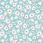 Tilda 110 Bon Voyage Paperflower Teal(2020)