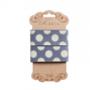 Tilda ribbon (cotton) Sewn spot Blue, 30 mm 480967