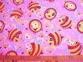 dapper-stof-roze-bij-100-x-140-cm